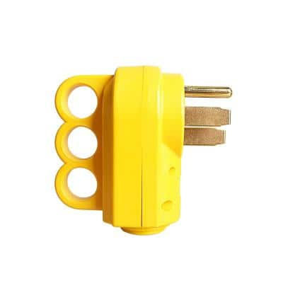 50 Amp RV Replacement Male Plug