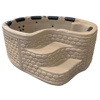 6-Person 15-Jet Plug and Play Hot Tub