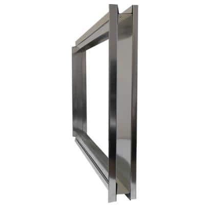 16 in. x 25 in. External Filter Rack Assembly for Forced Air Furnaces