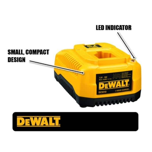 Details about  /For Dewalt DC9310 Fast Battery Charger 12V 18V NiCd /& NiMh Battery DC9096 DC9091