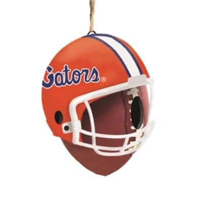 University of Florida 6.5 in. x 7.5 in. x 8 in. Polystone Hat/Helmet Ball Birdhouse