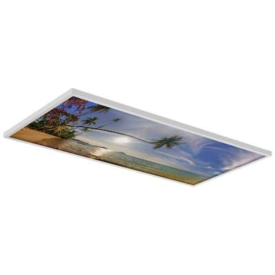 2 x 4 Fluorescent Light Filters Beach 006