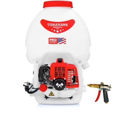 5 Gal. Gas Power Backpack Sprayer with Foundation Gun for Pesticide, Disinfectant and Fertilizer