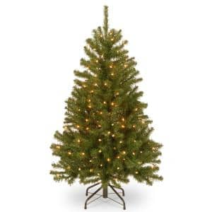 4 ft. North Valley Spruce Tree with Clear Lights