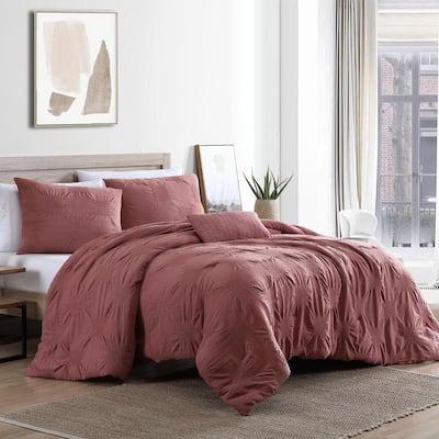 4-Piece Lorenzo King Comforter Set