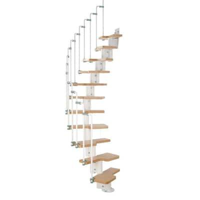 Karina White Modular Staircase Kit