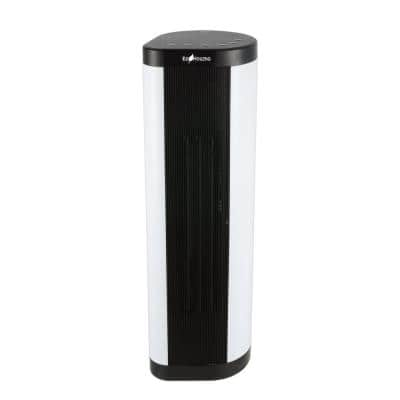 22 in. Tower Ceramic Fan Heater with Remote