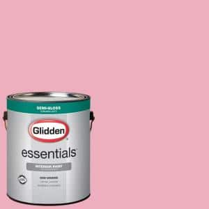 1 gal. #HDGR16 Pink Carnation Semi-Gloss Interior Paint