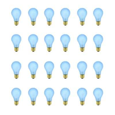 60-Watt A19 Medium E26 Base Indoor and Hydroponic Greenhouse Dimmable Incandescent Plant Grow Light Bulb (24-Pack)