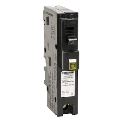Homeline 20 Amp Single-Pole Plug-On Neutral Combination Arc Fault Circuit Breaker (6-Pack)
