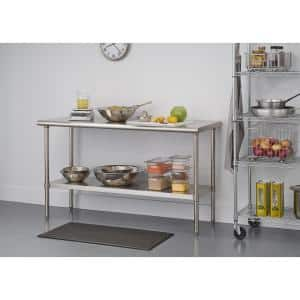 PRO EcoStorage 60 in. x 24 in. Stainless Steel NSF Kitchen Utility Table