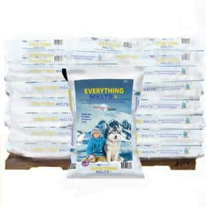 Everything Melts Plus 40 lbs. Pallet Infused Ice Melt (56-Bag)