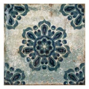Livorno Decor Vechio 7-7/8 in. x 7-7/8 in. Ceramic Wall Tile (11.29 sq. ft. / case)