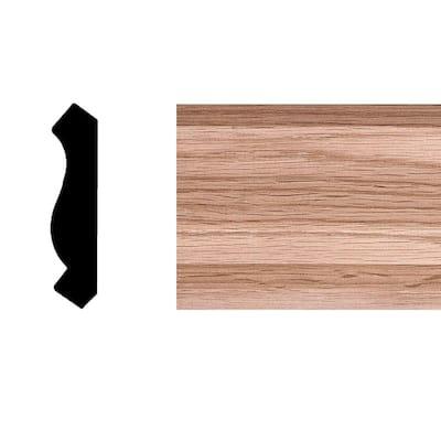 9577 - 3/4 in. x 3-1/4 in. x 8 ft. Oak Crown Moulding