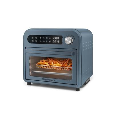 10 Qt. Slate Blue Air Fryer Oven with Basket