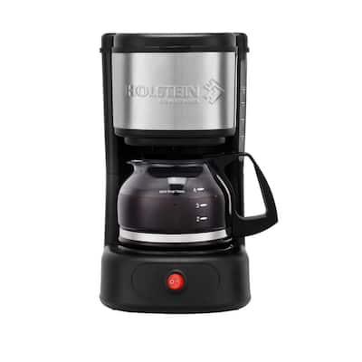 5 Cup Coffee Maker Black