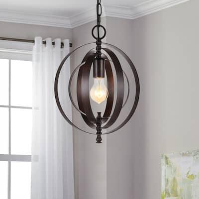11.81 in. x 12.99 in. Vintage Black Metal Chandelier Lamp Shade