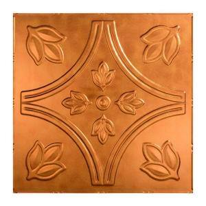 Traditional #5 2 ft. x 2 ft. Antique Bronze Lay-In Vinyl Ceiling Tile ( 20 sq.ft. )