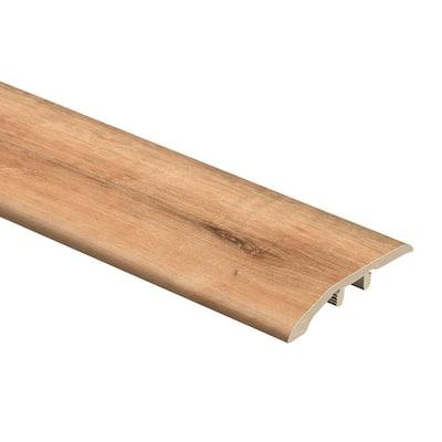Fresh Oak/Elk Wood 1/3 in. Thick x 1-13/16 in. Wide x 72 in. Length Vinyl Multi-Purpose Reducer Molding