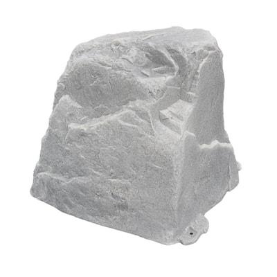 27 in. L x 21 in. W x 25 in. H Medium Plastic Cover in Gray