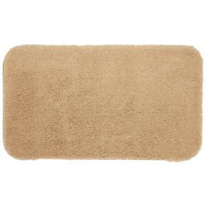 Pure Perfection Linen 17 in. x 24 in. Nylon Machine Washable Bath Mat