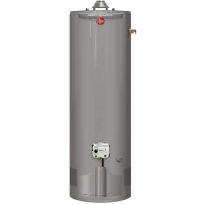 Performance 50 Gal. Tall 6 Year 38,000 BTU Ultra Low NOx (ULN) Natural Gas High Efficiency Tank Water Heater