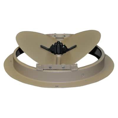 10 in. Steel Round Air Diffuser Damper