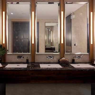 Procyon VMW11636AL 36 in. Silver LED Vanity and Bathroom Lighting Fixture