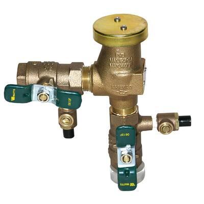 1/2 in. Anti-Siphon Pressure Vacuum Breaker Quarter Turn Shutoff Tee Handles, Bronze