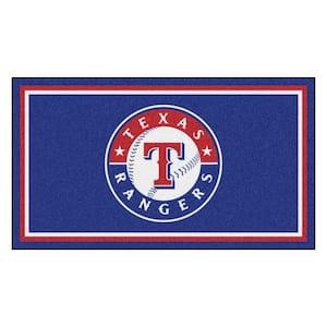 MLB - Texas Rangers 3 ft. x 5 ft. Ultra Plush Area Rug