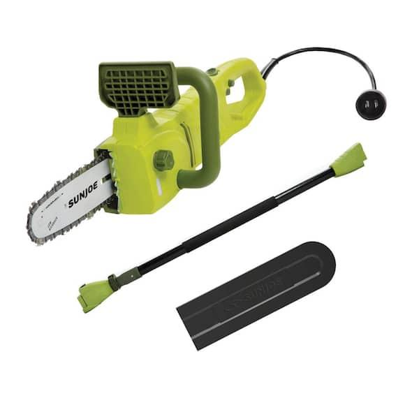 Sun Joe 2 in 1 Electric Convertible Pole Chain Saw Certified Refurbished