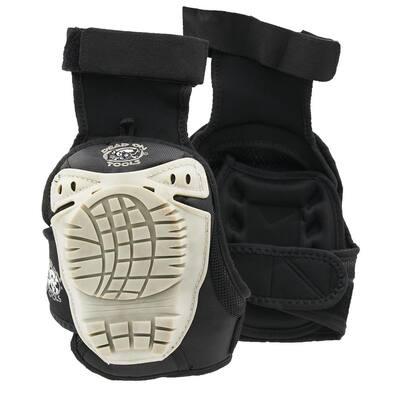 GelDOME Hard Cap Gel Padded Eliminator Knee Pads with Neoprene Lining and Hook and Loop Closure