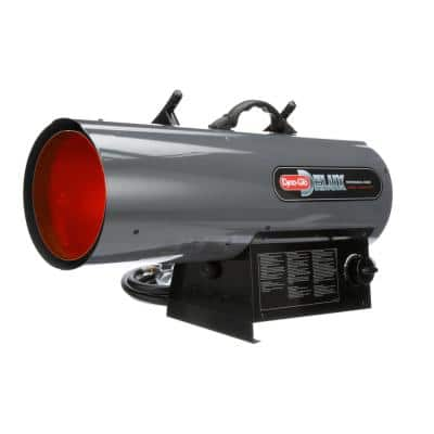 70K-125K BTU Propane Forced Air Heater