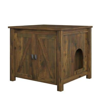 Farmington Litter Box Enclosure, Rustic