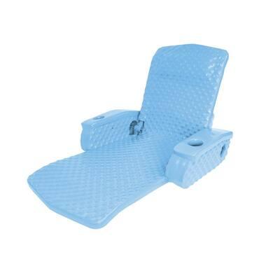 Marina Blue Super Soft Adjustable Swimming Pool Recliner Float