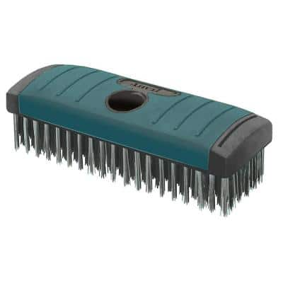Soft Grip Carbon Block Wire Brush 6 x 19 Rows