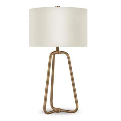 Marduk 25-1/2 in. Brass Table Lamp
