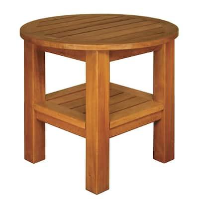 Terrace Mates 2-Shelf High End Round Patio Table