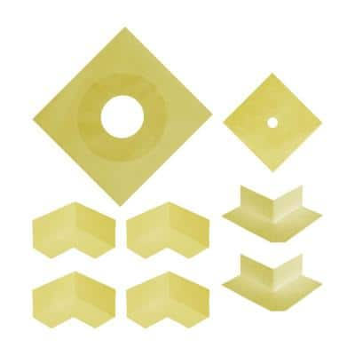 Durabase WP Waterproofing Sealing Kit for Shower and Backer Board Underlayment Installation