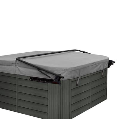 Flex Corner Spa/Hot Tub Cabinet Replacement Kit in Coastal Teak