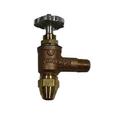 Firomatic 3/8 in. Brass Angle Valve