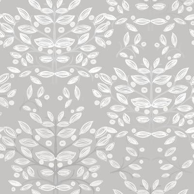 Kristofer Grey Botanical Paper Strippable Wallpaper (Covers 56.4 sq. ft.)
