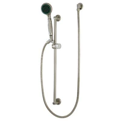 5-Spray Slide Bar Handshower in Brushed Nickel