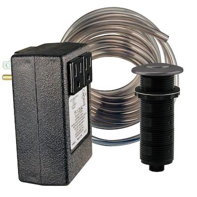 Garbage Disposal Air Switch in Matte Black