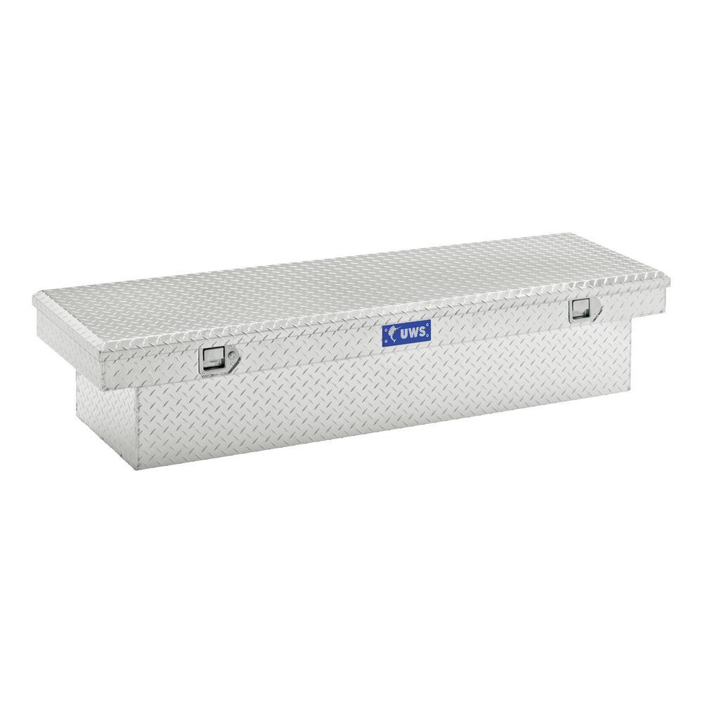 "Bright Aluminum 72"" Crossover Truck Tool Box (Heavy Packaging)"