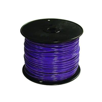 500 ft. 16 Purple Stranded CU TFFN Fixture Wire