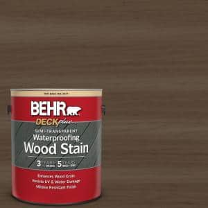 1 gal. #ST-141 Tugboat Semi-Transparent Waterproofing Exterior Wood Stain