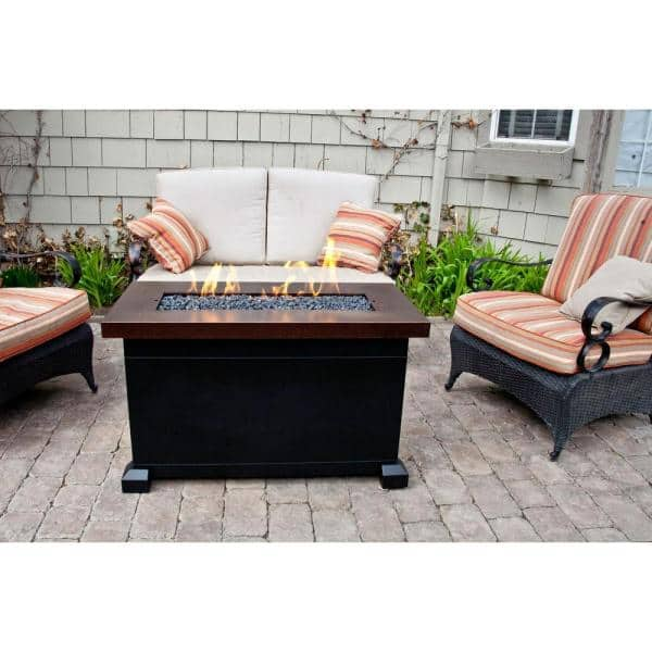 Camp Chef Monterey Propane Gas Fire Pit Fp40 The Home Depot
