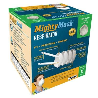3D+ N95 Mighty Mask (10-Pack)