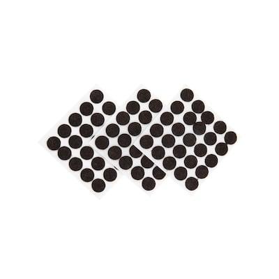 3/8 in. Brown Medium-Duty Self Adhesive Felt Pad (75-Pack)